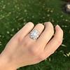 1.82ctw Diamond Cluster Ring 9