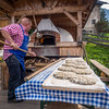 The old-fashioned bread, Speckfest, Santa Maddalena, Italy
