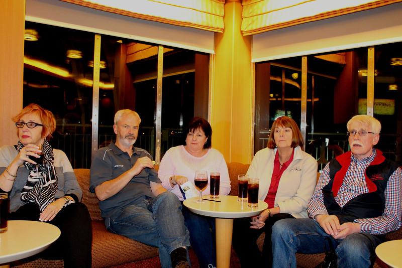 Melva, Bruce, Jenny, Gail & Dave
