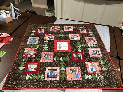 Christmas Photo Quilt