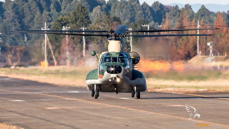 JASDF / Kawasaki CH-47J Chinook / 17-4500