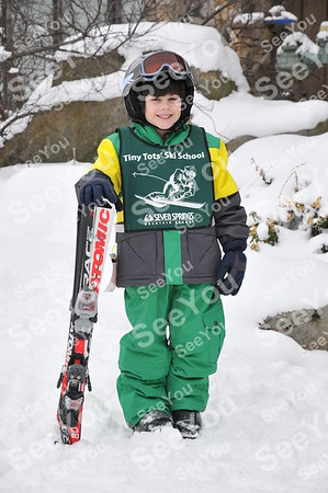 Tiny Tots Ski School 2-22-13