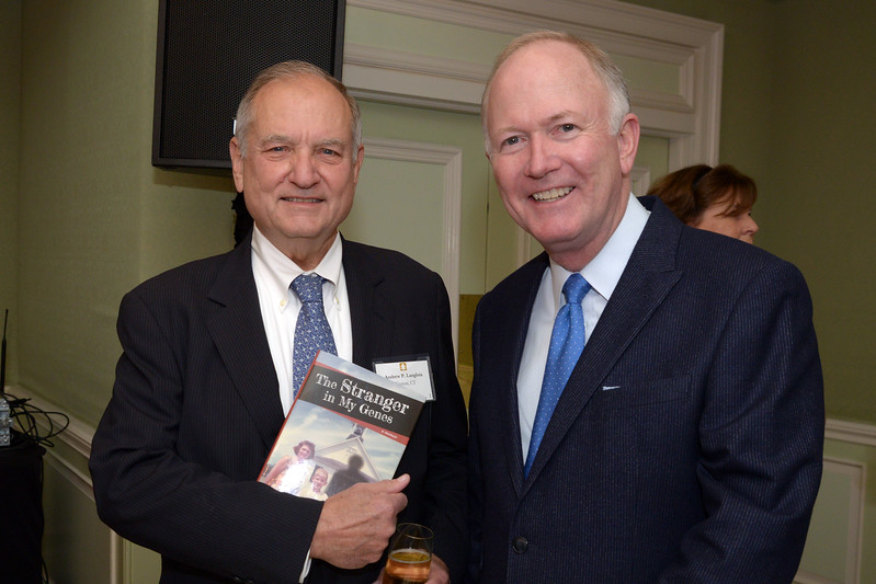 NEHGS Councilor Andy Langlois and Bill Griffeth