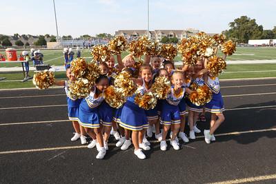 1st & 2nd Cheerleading & Football VCS vs Kellyville