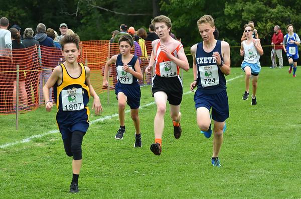 Boys 4 Woods Trail Run 2016-10-01