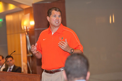 Lunch with Football Coach Al Golden - June 20, 2013
