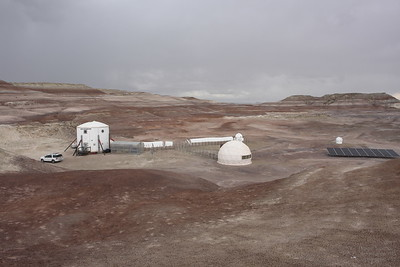 Mars Desert Research Station, Utah 2017