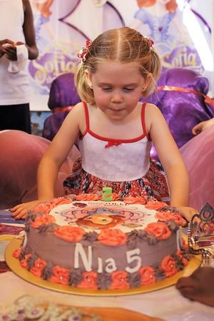 Nia's Birthday - Oct 2016