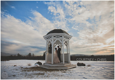 Courtney + Chris - Whitefield, NH