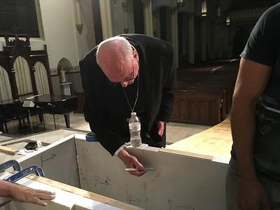 Mike Hinkle -- altar