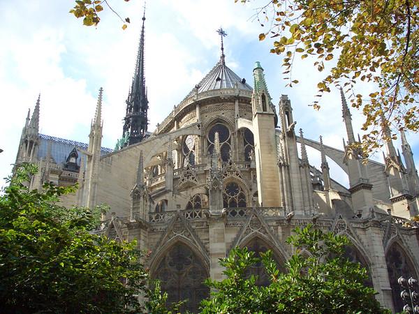 Paris part I - Notre Dame, Versailles, August 2006