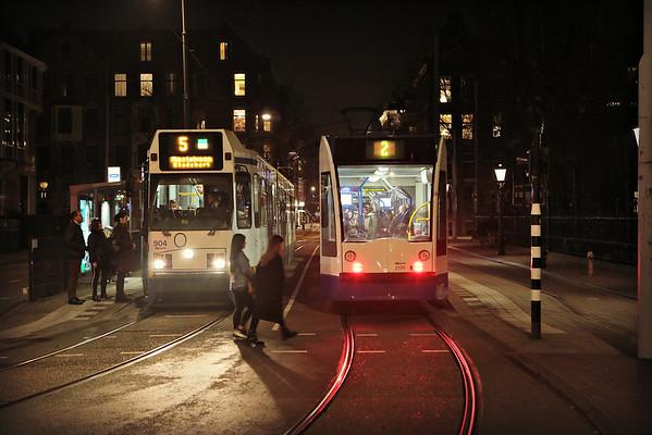 🇳🇱 Amsterdam Tram Locations