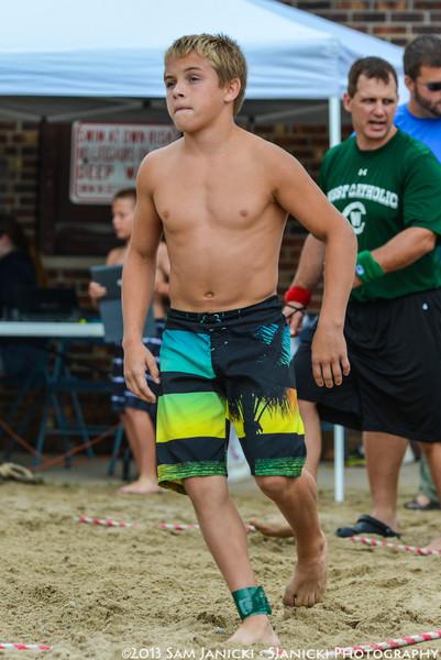Championship Round - 2013 Michigan Beach Wrestling Champ.