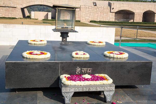 Raj Ghat – Gandhi Memorial - December, 2015