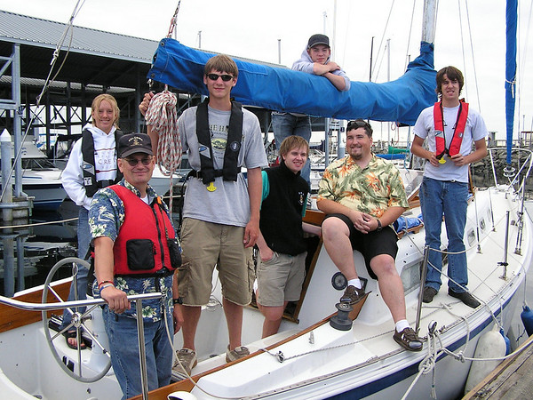Sea Scout Ship 6 - Kelcema, July 28, 2006