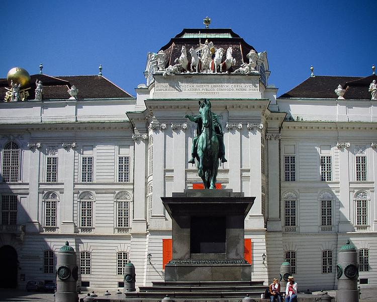 Josefsplatz, Albertina