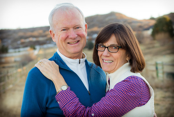Mom and Dad session at Christmas