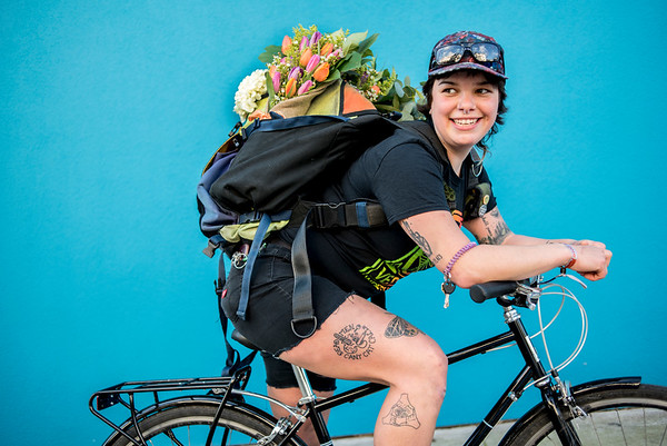Public Bike/ Bloom Messenger Portraits
