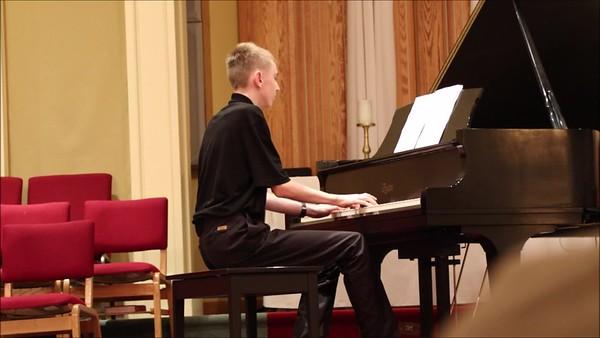 Daniel piano recital May 12, 2017