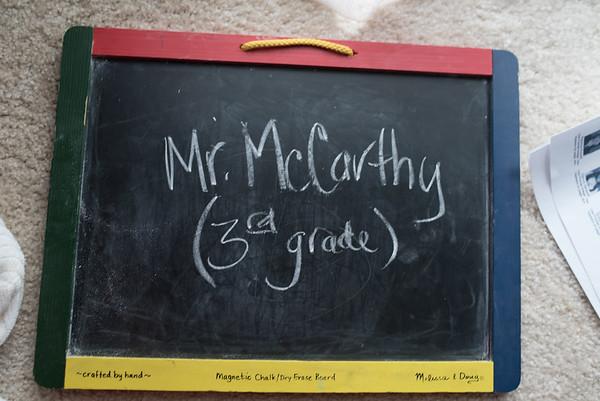 Mr. McCarthy - (3rd Grade)