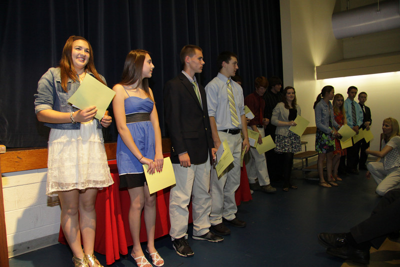 Awards Night 2012 - Students of the Year: Physical Education