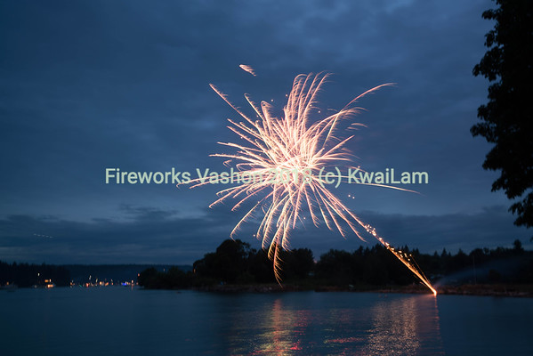 Fireworks Vashon 2018