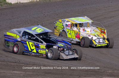 Cornwall Motor Speedway - 7/17/16 - Rick Young
