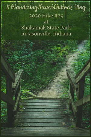 2020 Hike #29 on July 3rd at Shakamak State Park in Jasonville Indiana (Trail 2)