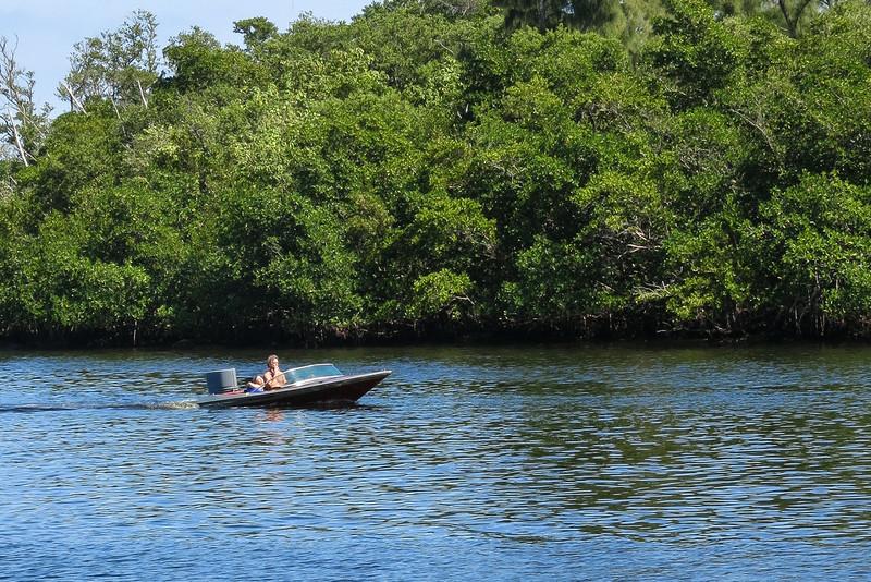 Boat on Intercoastal
