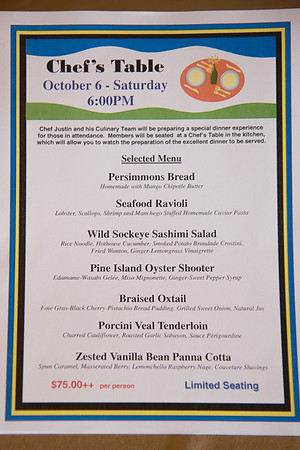 2012-10-08 - Chef's Table