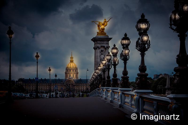 Highlights of Paris - Le Pont Alexandre III