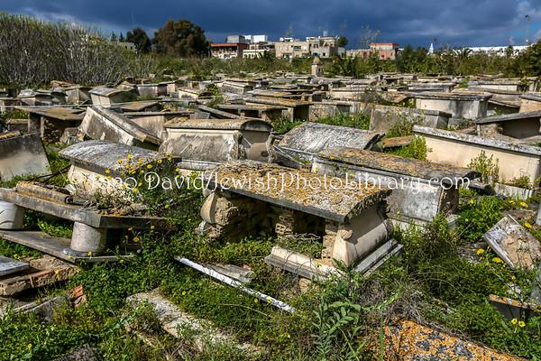 TUNISIA, Tunis. Jewish Cemetery Borgel (opened 1894) (3.2016)