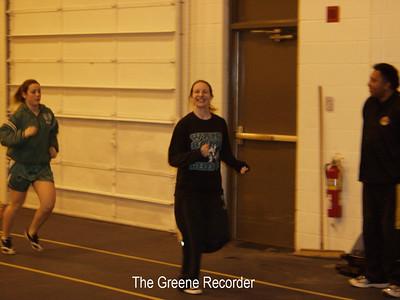 Girls track at Wartburg