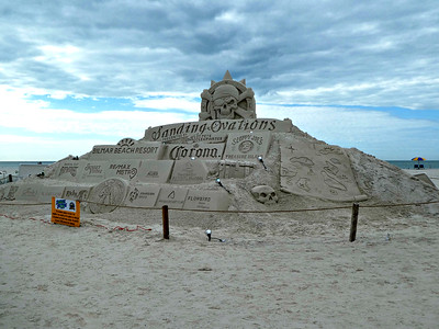 2018-11-18 - Treasure Island Sand Sculptures
