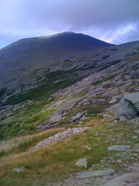 Trail up to Mt Washington