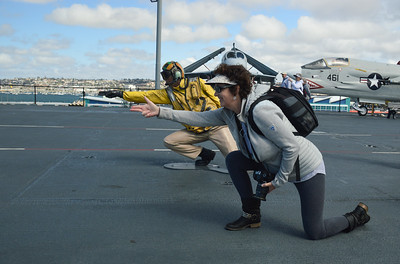 CA/USS Midway Museum - March, 2018
