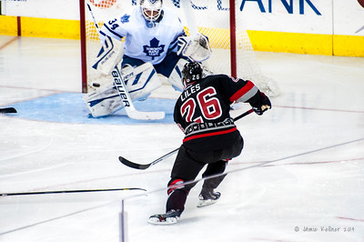 Canes vs Leafs 01.09.14