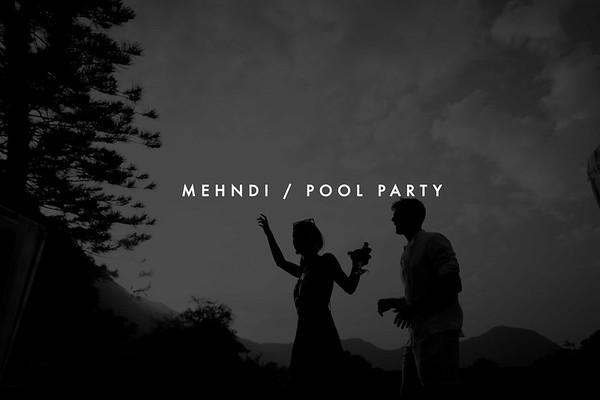 Pool Party/Mehndi