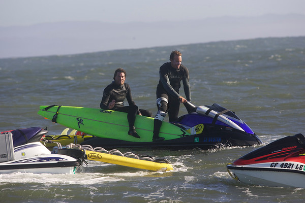 """Az.Hi.az.I.aM goes to MAVERICKS... Yeah it was a waaaay over hyped swell, but fun to get the blood pressure going. With Erik Akiskalian and Chad Jackson up in Oregon at the Nelscott contest and a solid swell on it's way, we had to figure out what were our options and everything pointed to Mavericks. One of the Worlds most popular waves, and with an average of 40 surfers on the peak, it did get a little hectic. We were stoked to see a number of """"A"""" list of talent like Shane Dorian, Ken Collins, Shawn Barron, Augie, Ben Andrews and Mark Healey enjoyed some really nice conditions and a great day on the water. If you want to browse the entire gallery, click the """"Photo Galleries"""" to the left side of the page, follow the link and scroll down to the Mavericks gallery for easy viewing. All photos by MLJ/ <a href=""""http://www.azhiaziam.com"""">http://www.azhiaziam.com</a>"""