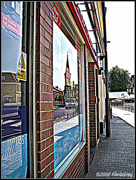 Reflections of Banbury  ©2008 FlorieGray
