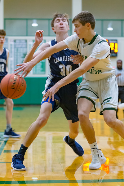 Central Dauphin Junior Varsity team takes on Chambersburg, December 21, 2018, at CDHS.