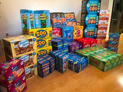 04/02/20 - Quarantine Snack Packs for Troops