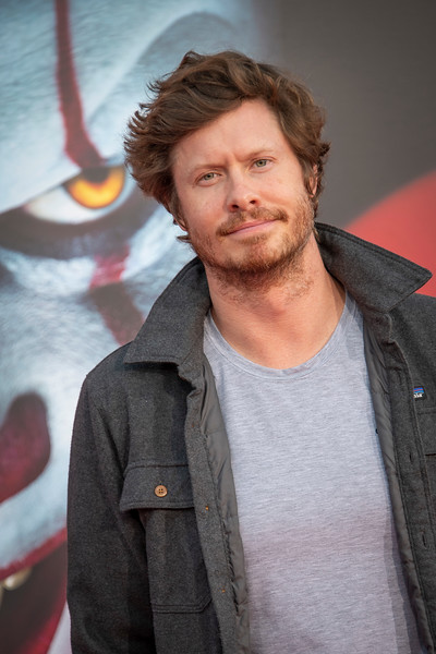 "WESTWOOD, CA - AUGUST 26: Anders Holm attends the Premiere Of Warner Bros. Pictures' ""It Chapter Two"" at Regency Village Theatre on Monday, August 26, 2019 in Westwood, California. (Photo by Tom Sorensen/Moovieboy Pictures)"