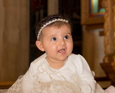 Amelia Marie's Christening