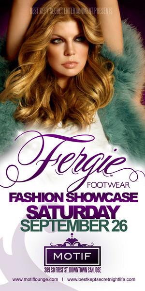 Fergie Fashion Showcase @ Motif 9.26.09