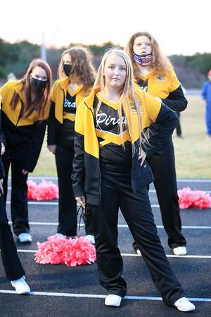 Snapshots of Cheerleaders taken by a proud cheer mom