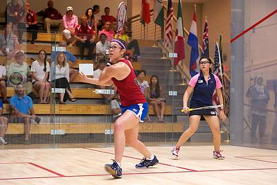 2011-07-22 4th Round: Amanda Sobhy (USA) and Yan Xin Tan (Malaysia)