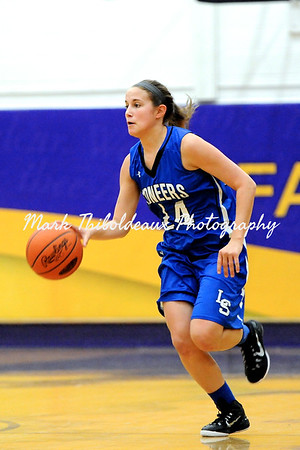 Lampeter-Strasburg Varsity Girl's Basketball v. LC 2.18.15 (Districts)