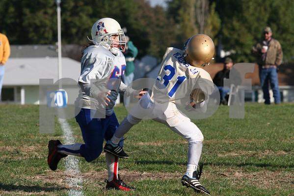 LLF-JR-Higginsville Gold vs Lexington Raiders 10-27-07