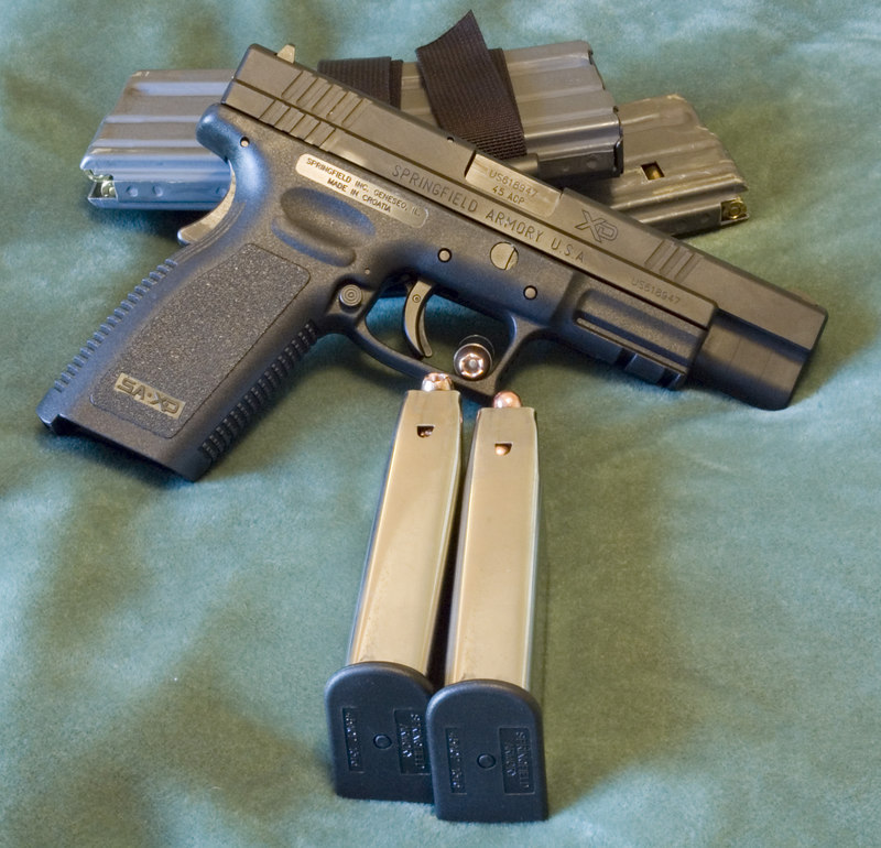 Springfield Armory XD 45ACP Tactical